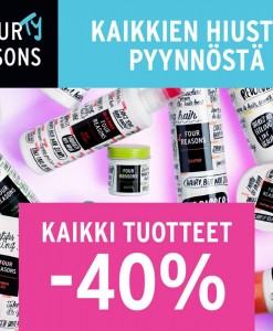 Kaikki 4R tuotteet -40%